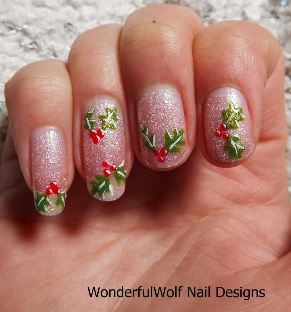Christmas Nail Design: 357 Holly Jolly Christmas Nail Art Designs You're Gonna Love