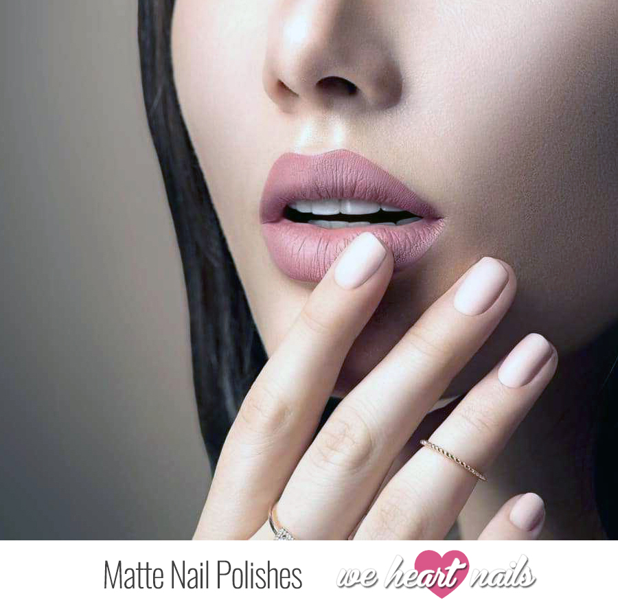 Matte Nail Polishes