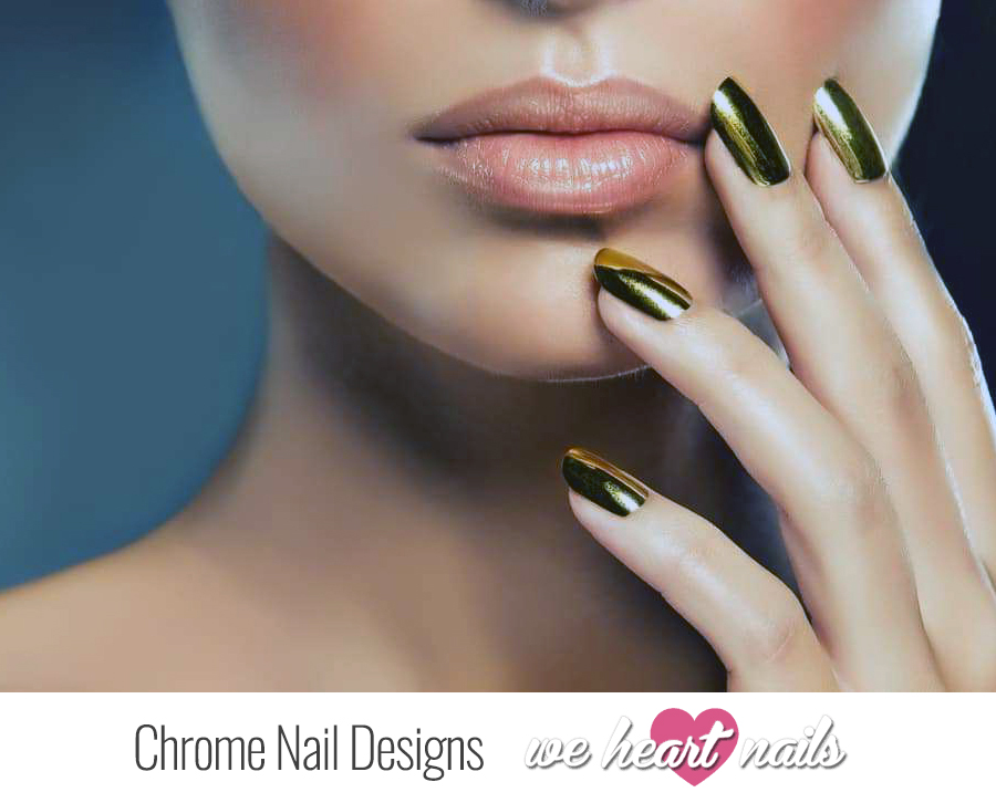 Be Glamorous With The Top 5 Chrome Nail Designs of 2020