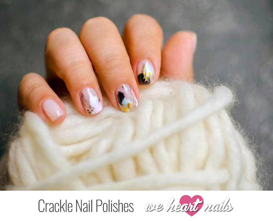 Crackle Nail Polishes