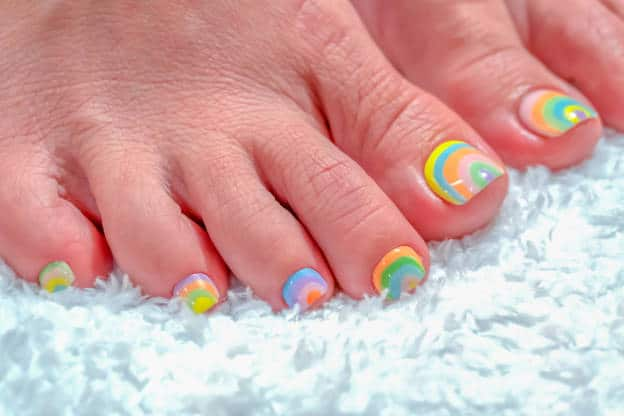 What Causes Toenail Discoloration? | We Heart Nails