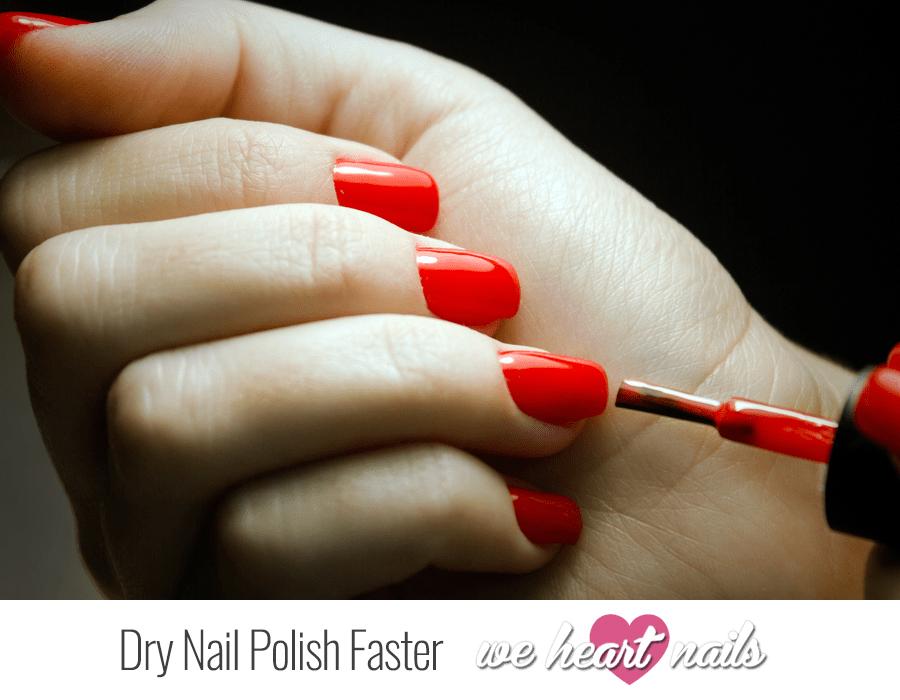 Dry Nail Polish Faster