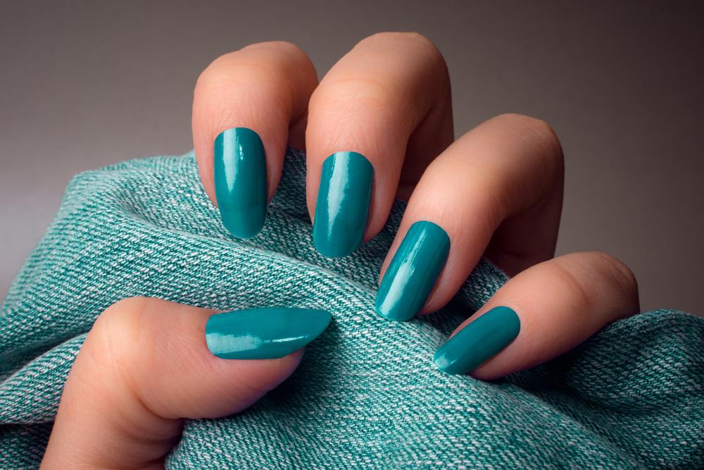 Glamorous Aqua Nails This Season S Sophisticated Elegance