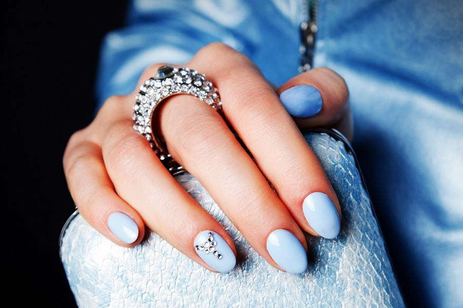 Awesome Baby Blue Nails My Favorites For This Season