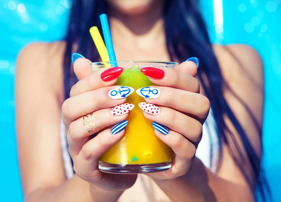 Summer Holiday Nails – Look Hot with My Favorites