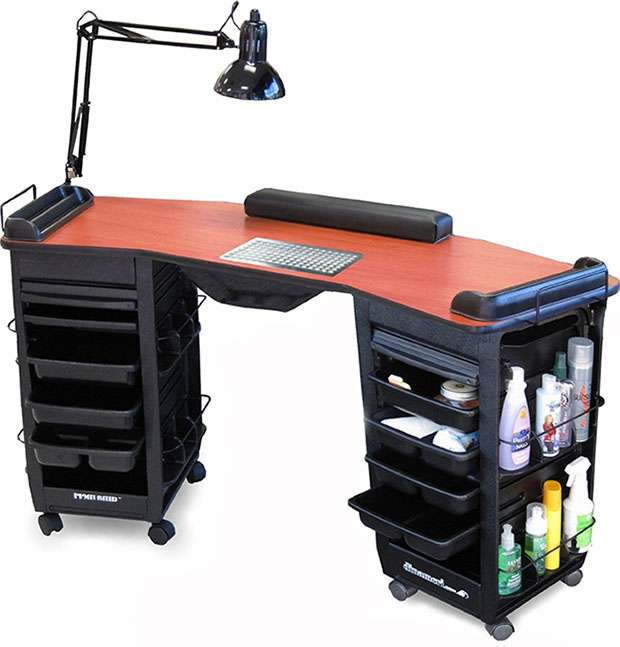manicure tables for sale the best sorted by price. Black Bedroom Furniture Sets. Home Design Ideas