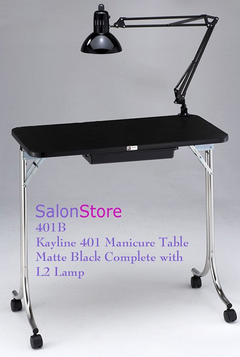 Manicure tables for sale top 5 best deals we heart nails for Fold up nail table