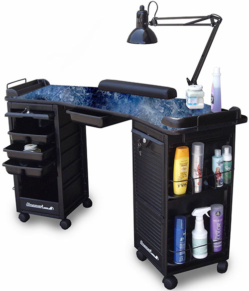 Manicure tables which one to buy we heart nails for Small manicure table